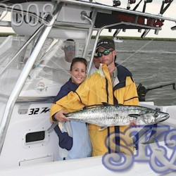 Kingfish King Mackerel deep sea fishing
