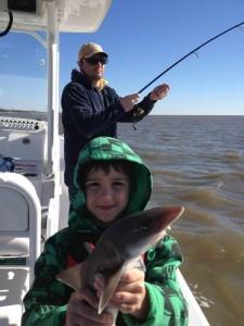 fishing at st simons island, GA