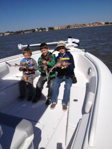 St. Simons Island Kids fishing trip