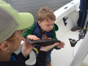 Kids fishing trips St. simons