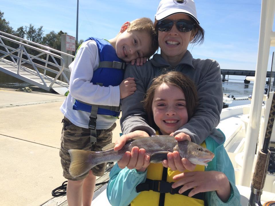St. Simons Kids Fishing Trips